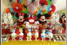 Mickey Mouse Party Ideas / Mickey Mouse party ideas --  Mickey Mouse cakes, decorations, party foods and favors. See more party ideas at CatchMyParty.com.