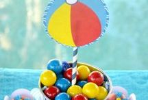 Summer Party Planning Ideas / Summer party ideas including summer birthday parties, summer cakes, cupcakes, and desserts, party themes, free summer printables, decorations, and favors, plus surfing and beach party ideas. See more party ideas, free printables, and party crafts at CatchMyParty.com.
