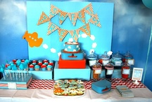 Airplane Party Ideas / Airplane party ideas for a boy birthday -- plane cakes, decorations, party foods and favors. See more party ideas at CatchMyParty.com.