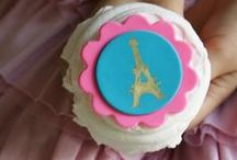 French Parisian Party Ideas / French Parisian party ideas for a girl birthday -- Paris cakes, decorations, French party foods and favors. See more party ideas at CatchMyParty.com.