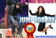 Jump for Joy Aug 2012 Vision Board Club theme