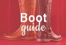 Boot Guide / Is your closet in need of a re-boot? Look no further - ShoeBuy is your boot destination with ideas from cowgirl boots to booties, you'll find your perfect match. / by ShoeBuy