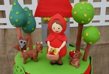 Little Red Riding Hood Party Ideas / Little Red Riding Hood party ideas for a girl birthday -- birthday cakes, decorations, woodland party foods and favors. See more party ideas at CatchMyParty.com.