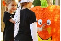 Halloween Activities / Make your Halloween celebration extra fun with activities for the whole family -- games, crafts and more Halloween party ideas.  See more party ideas at CatchMyParty.com.
