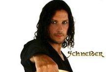 ♥ Christoph Schneider ♥ / The sexiest man alive!! He's drummer of the German metal band Rammstein \,,/ Du bist sehr gutaussehend und heiss!! ♥ / by Katrina Pursell