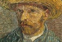 Artist - Vincent Van Gogh / (30 March 1853 – 29 July 1890) was a Dutch post-Impressionist painter whose work, notable for its rough beauty, emotional honesty and bold color, had a far-reaching influence on 20th-century art.