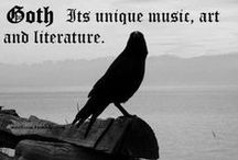 ^♥^ OhmiGOTH! ^♥^ / Fashion. Music. Art. A Lifestyle. That's what goth is all about. / by Katrina Pursell