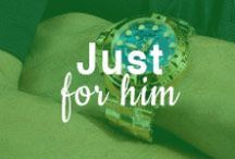 Just for Him / by ShoeBuy