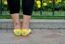 Tattoos to consider. / Tattoos that are most likely all geeky. / by Hannah Gelormini