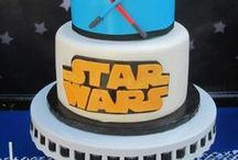 Star Wars Party Ideas / Star Wars party ideas for birthdays  --  Star Wars cakes, decorations, party foods and favors. See more party ideas at CatchMyParty.com.