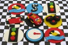 Cars and Trucks Party Ideas / Cars and truck party ideas for boy birthdays  --  Cars and trucks cakes, decorations, party foods and favors. See more party ideas at CatchMyParty.com.