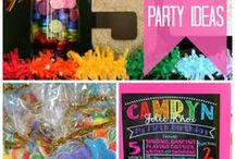 Featured Parties from Catch My Party / Want to see the most creative and inspiring parties added to Catch My Party? You'll find amazing dessert tables, birthday cakes, party decorations, party favors, and party activities for birthday parties, baby showers, holiday parties and more! Have fun exploring all these party ideas! For more check out CatchMyParty.com. / by Catch My Party