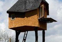 Tea/Tree Houses / Tea, house & nature. Great combination.