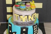 Teenage Mutant Ninja Turtles Party Ideas / Teenage Mutant Ninja Turtles party ideas for a boy birthday or girl birthday -- TMNT cakes, decorations, cake pops, party foods and favors. See more party ideas at CatchMyParty.com.
