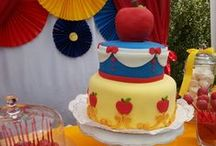 Snow White Party Ideas / Snow White themed girl birthday parties, with wonderful ideas for Disney, princess, cakes, cookies, cupcakes, party decorations and more! / by Catch My Party