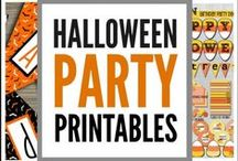 """Halloween Printables / Here's a collection of fabulous Halloween printables to decorate your Halloween parties. We've also got printable activities like free """"You've Been Boo'd"""" printables, Halloween countdown calendars, Halloween bingo, and more. If you need any Halloween printables, we've got them!"""