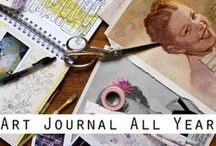 Art Journaling / by Style Me Sweet Design