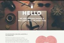 Web Design / Beautiful and effective website and user interface designs I find around the Internet for inspiration and education. Tagged with keywords for easy search.