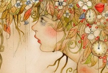 art I like / inspiration and beauty in color story / by sylvanfairy