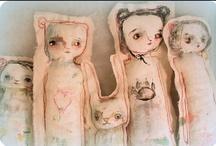 dolls / inspiring dolls, if I ever made dolls / by sylvanfairy