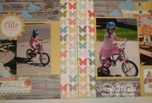 My Load 2012 (layout a day) / one of my resolutions this year is to create & post one project a day.. so far so good.  This is a board of items that I made.  Kimberly Congdon, aka Scrap It Girl / by Scrap It Girl, Design Team Calls, Scrap Challenge.com