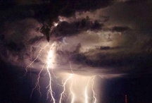 Lightning Strikes - World Natural Disaster / Lightning strikes are electrical discharges caused by lightning, typically during thunderstorms.