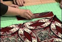 Quilts: Tutorials and Supplies / Wow - I found the mother lode of quilting tutorials.  What an education we can receive just from watching these.  Thank you Pinterest! / by Anita Freeman