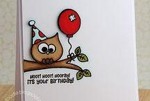 Cards:  Owls / by Anita Freeman