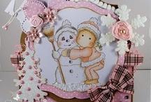 Cards:  Christmas Snowmen / by Anita Freeman