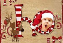 Cards:  Christmas Santa/Elves / Includes Santa, elves, reindeer, etc. / by Anita Freeman
