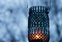 Lanterns and lights / by sylvanfairy