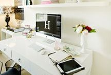 Home Office & Studios / Home Office, Craft Sudios, Art Studios & Sewing Rooms / by Style Me Sweet Design