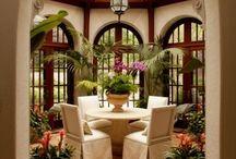 Sunroom atrium room / California , sun, reading, greenhouse,relaxing room