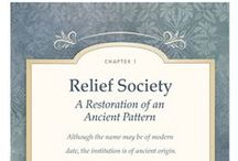 Church: Relief Society Ideas / by Anita Freeman