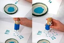Stencil & Stamps DIY