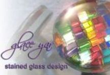 Glace Yar Stained Glass Decorative Hardware / Glace Yar (glass jar) Stained Glass Hardware combines tradition with innovation using the timeless art of stained glass.  Each piece is hand cut and crafted from stained glass and artisan glass; an art that can never be mass produced due to the intricate process it takes to create each finished piece.