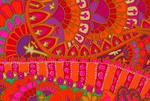 Colour and pattern / by Katie Levett-Allen