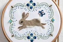 Knotty, knotty / Embroidery art