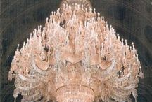 Showy Chandeliers ♥ / Crystal Chandeliers in all their beauty and elegance.