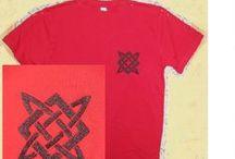 Вышивка на футболке / Компьютерная вышивка на трикотажном полотне