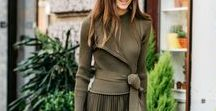 OLIVE TREND / Fall & Winter Color of 2016