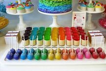 lisa loves RAINBOW PARTIES / by Lisa Loves Rainbows