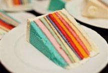 lisa loves CAKE / by Lisa Loves Rainbows