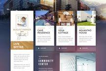 Webdesign / by Sylvain Proov