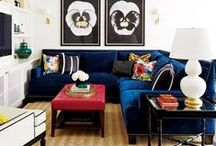 Interior Design Ideas / Ideas for my future dream home - or for my current 1 bedroom apartment. / by Jasmine Lightning