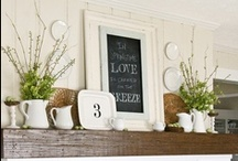 Mantels / by Leslie F