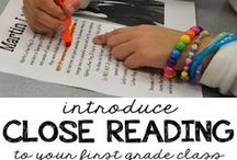 Sparkling Readers / Reading tips and tricks for kindergarten, 1st grade, and 2nd grade.  | comprehension | close reading | figurative language | fluency |