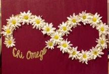 [chi omega] / by Carly Hume