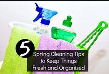 Spring Cleaning / Get some great spring cleaning tips from this board to help with cleaning hacks, organization, and more!