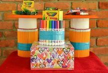 Back to school / A collection of back to school crafts, back to school lunch recipes, teacher gift ideas and tips that are all centered around going back to school!